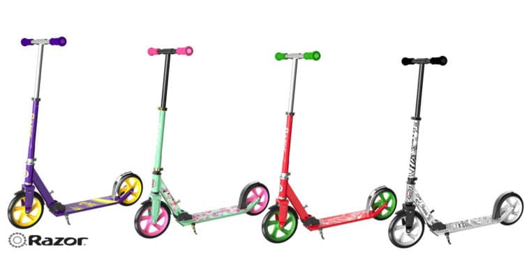 These Razor scooters are inspired by AriZona Iced Tea, Sharpie, Sriracha, and Takis Snacks 11