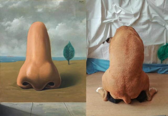 These folks recreated famous pieces of art and the results are hilarious 16