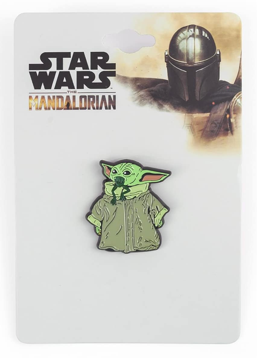 The Mandalorian cog necklace and Baby Yoda enamel pin are now available at Toynk 17