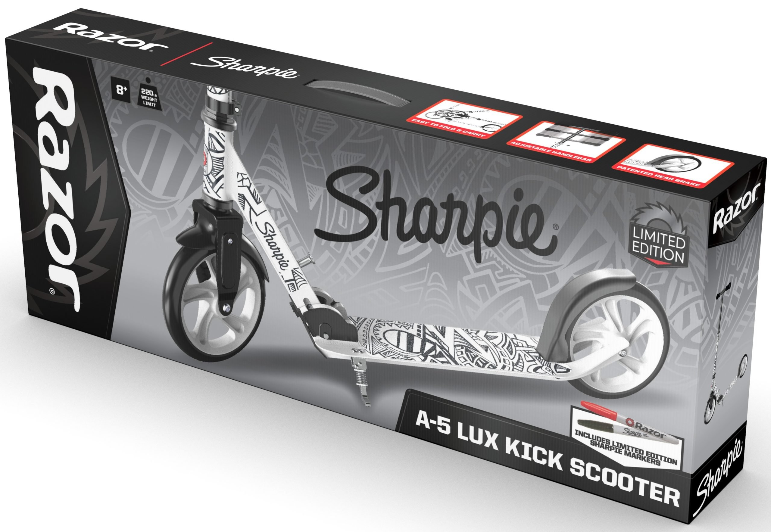 These Razor scooters are inspired by AriZona Iced Tea, Sharpie, Sriracha, and Takis Snacks 15