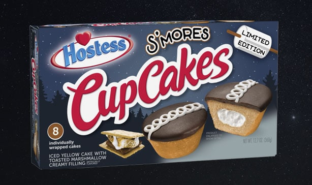 Hostess is releasing marshmallow-filled S'mores cupcakes 12