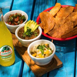 Spicy salsa and nachos 19