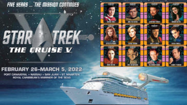 Star Trek: The Cruise V has been postponed until 2022 due to COVID-19 18