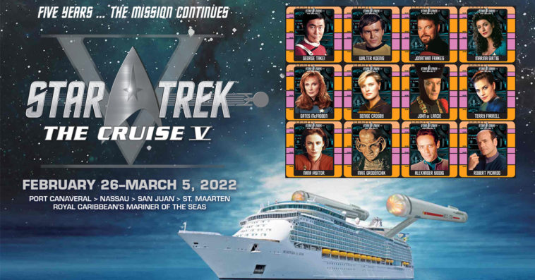 Star Trek: The Cruise V has been postponed until 2022 due to COVID-19 20