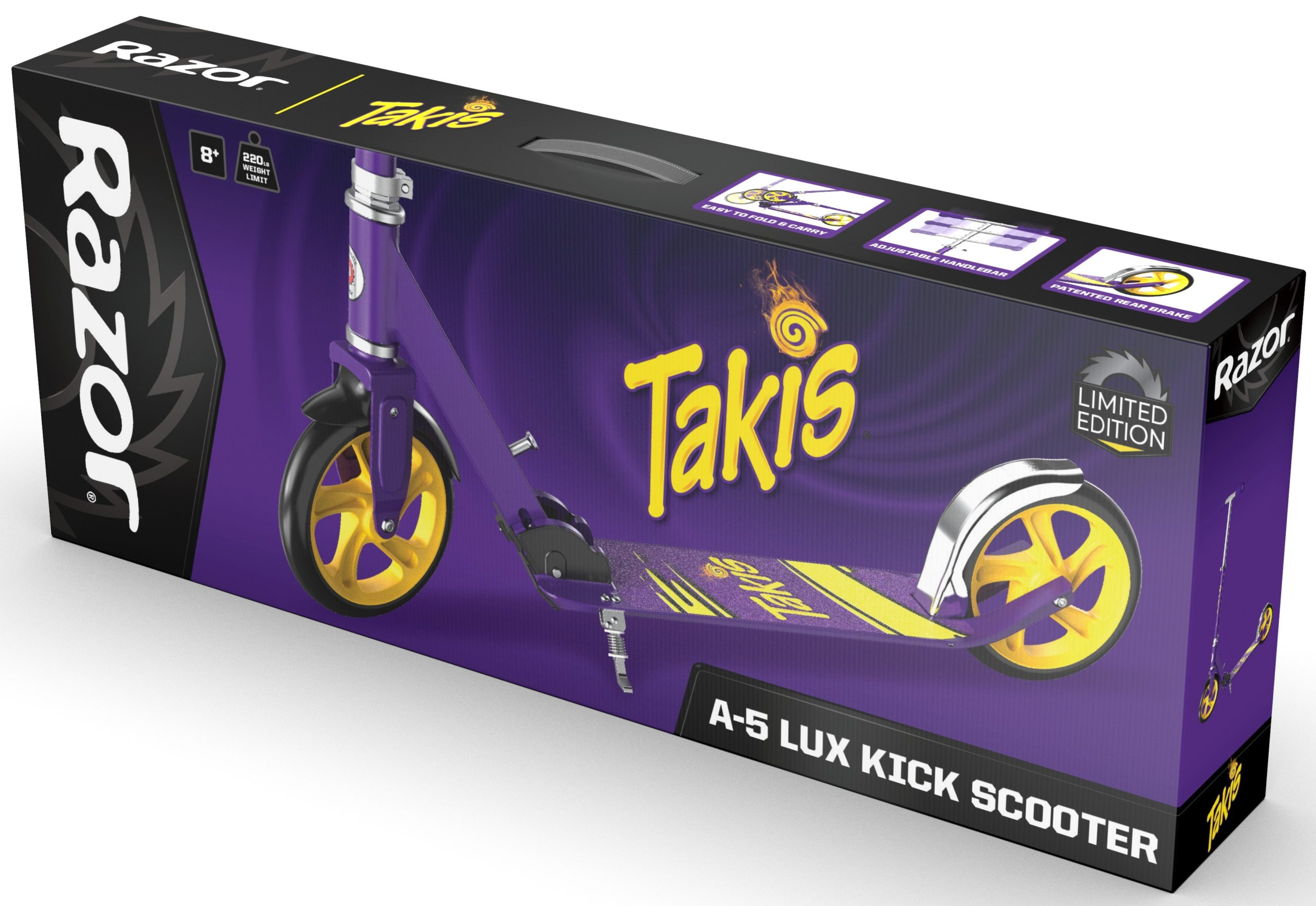 These Razor scooters are inspired by AriZona Iced Tea, Sharpie, Sriracha, and Takis Snacks 19