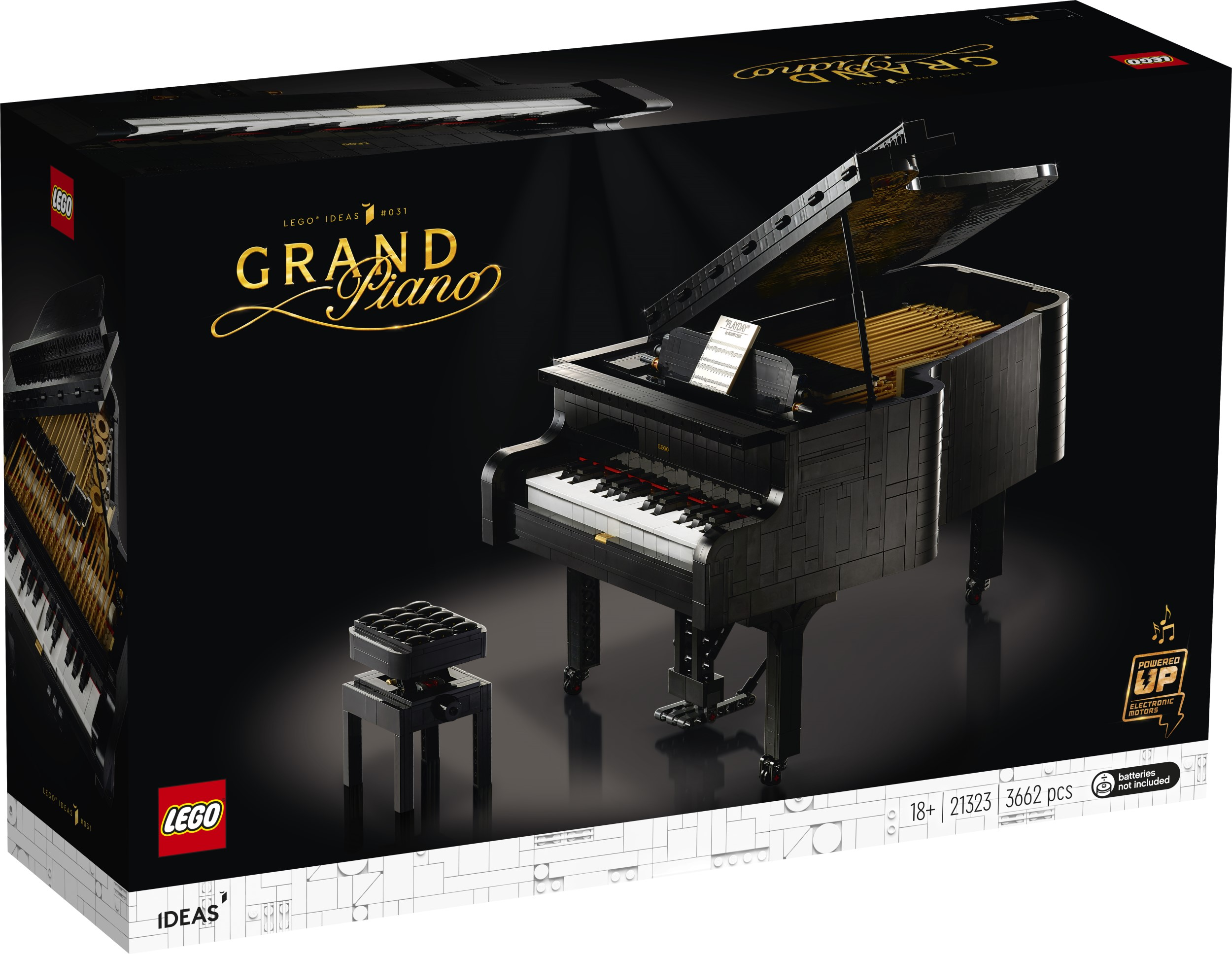 LEGO Ideas Grand Piano set lets you play music for real 17