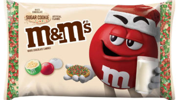 M&M's is releasing a white chocolate sugar cookie flavor for the holiday season 14