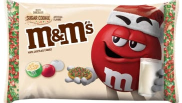 M&M's is releasing a white chocolate sugar cookie flavor for the holiday season 11