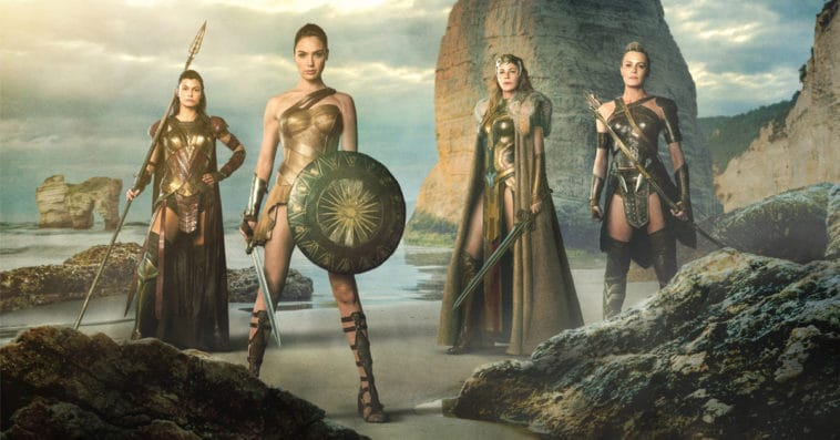 A Wonder Woman animated series focusing on the Amazons is being considered 12