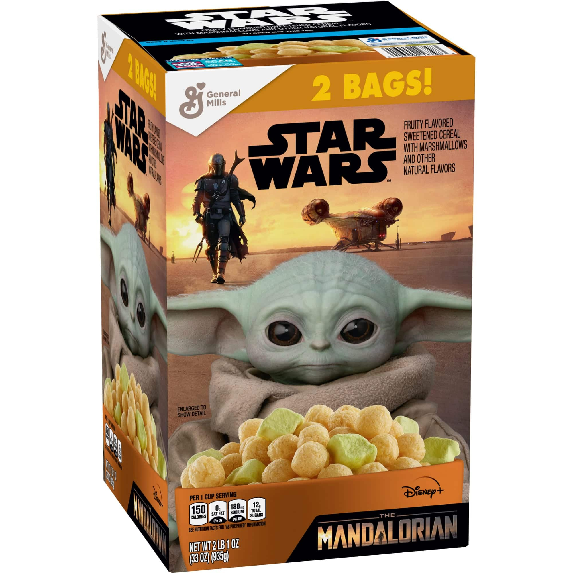 Baby Yoda cereal is hitting Sam's Club and Walmart shelves this summer 13