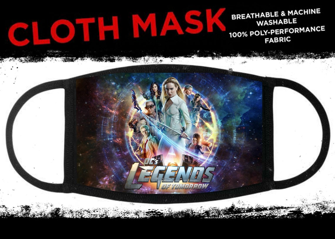 These Legends of Tomorrow face masks will keep you quirky amid the pandemic 15