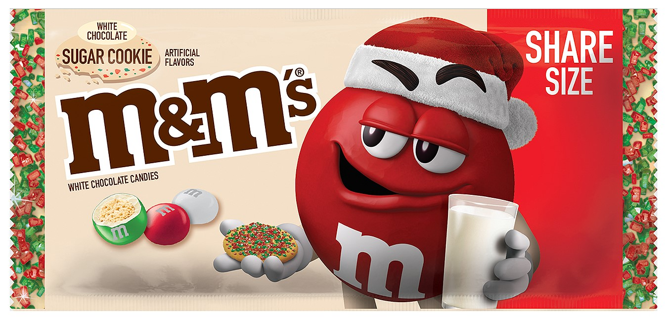 M&M's is releasing a white chocolate sugar cookie flavor for the holiday season 16