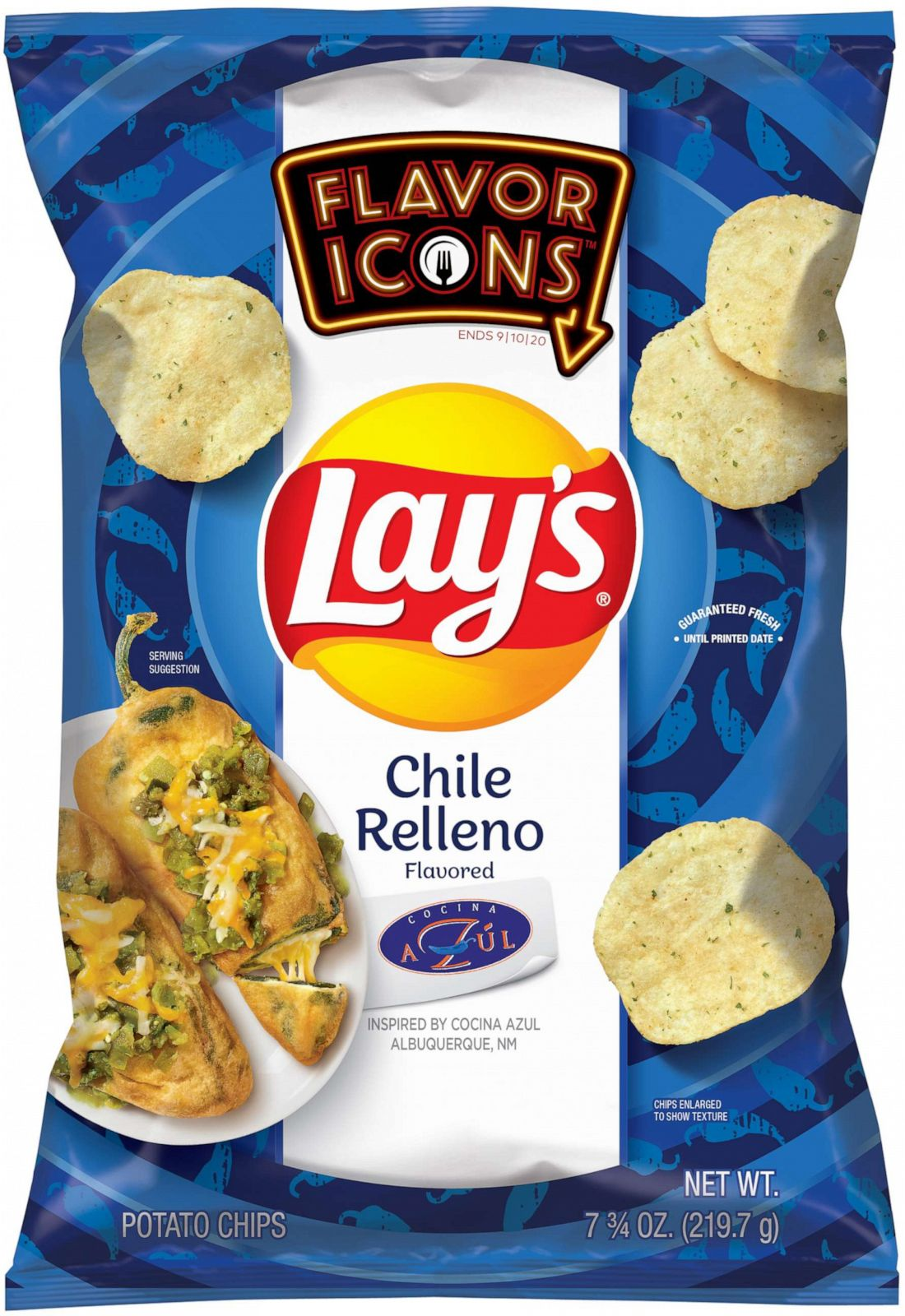Lay's Flavor Icons chips are inspired by dishes from famous U.S. restaurants 18