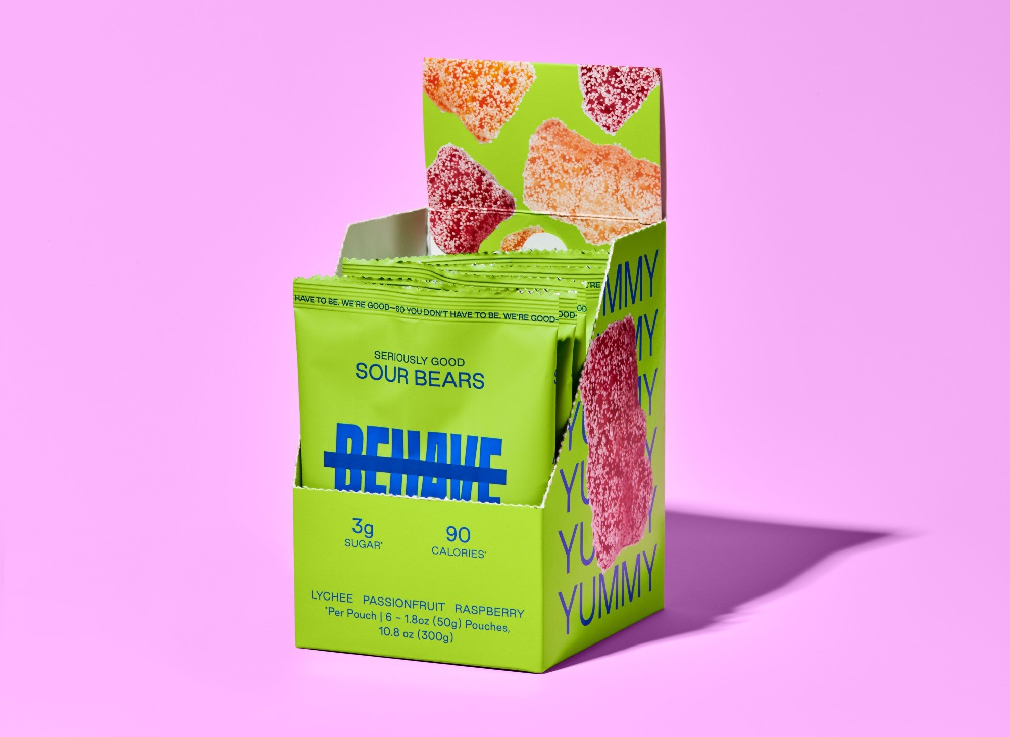 Candy brand Behave launches with low-sugar gummy bears 17