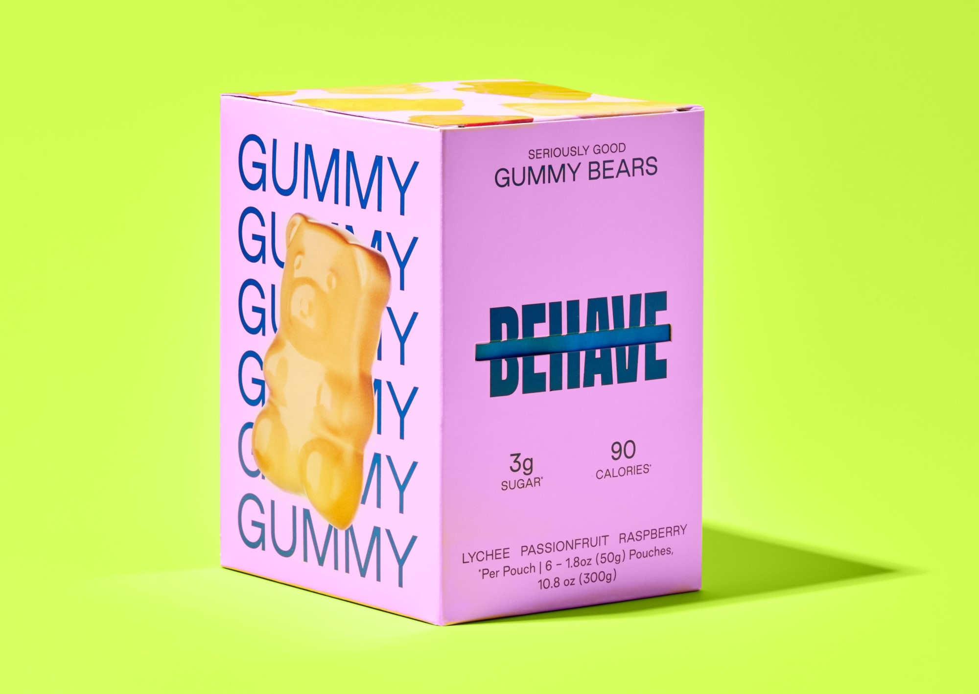Candy brand Behave launches with low-sugar gummy bears 14