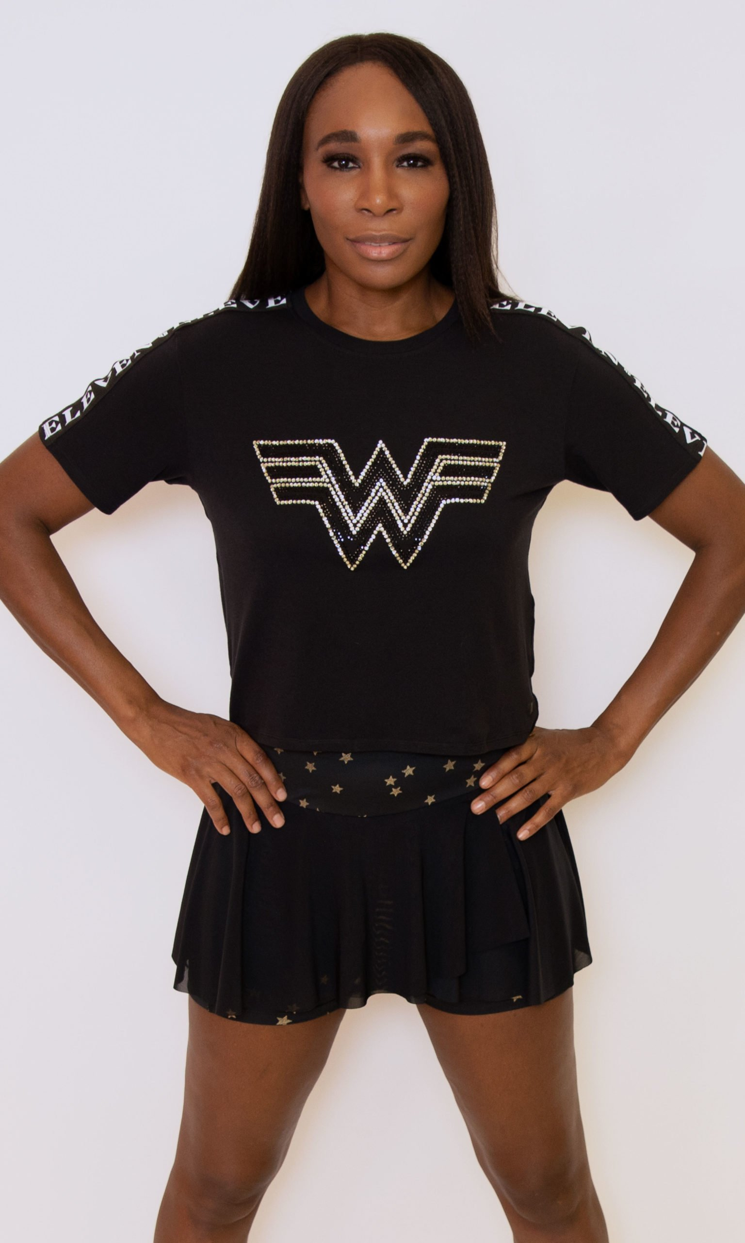 EleVen by Venus Williams x Wonder Woman collection includes tennis wear, t-shirts, and hoodies 14