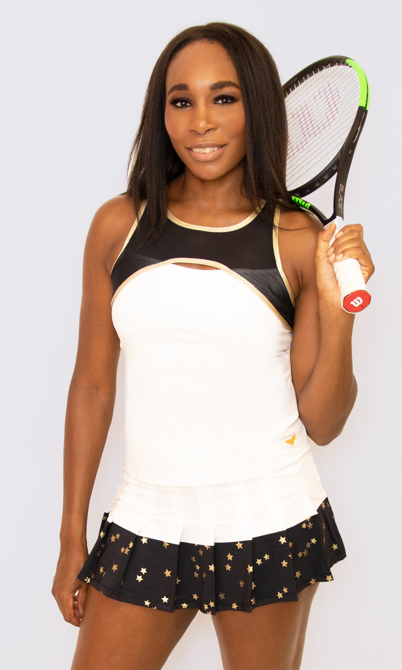 EleVen by Venus Williams x Wonder Woman collection includes tennis wear, t-shirts, and hoodies 15