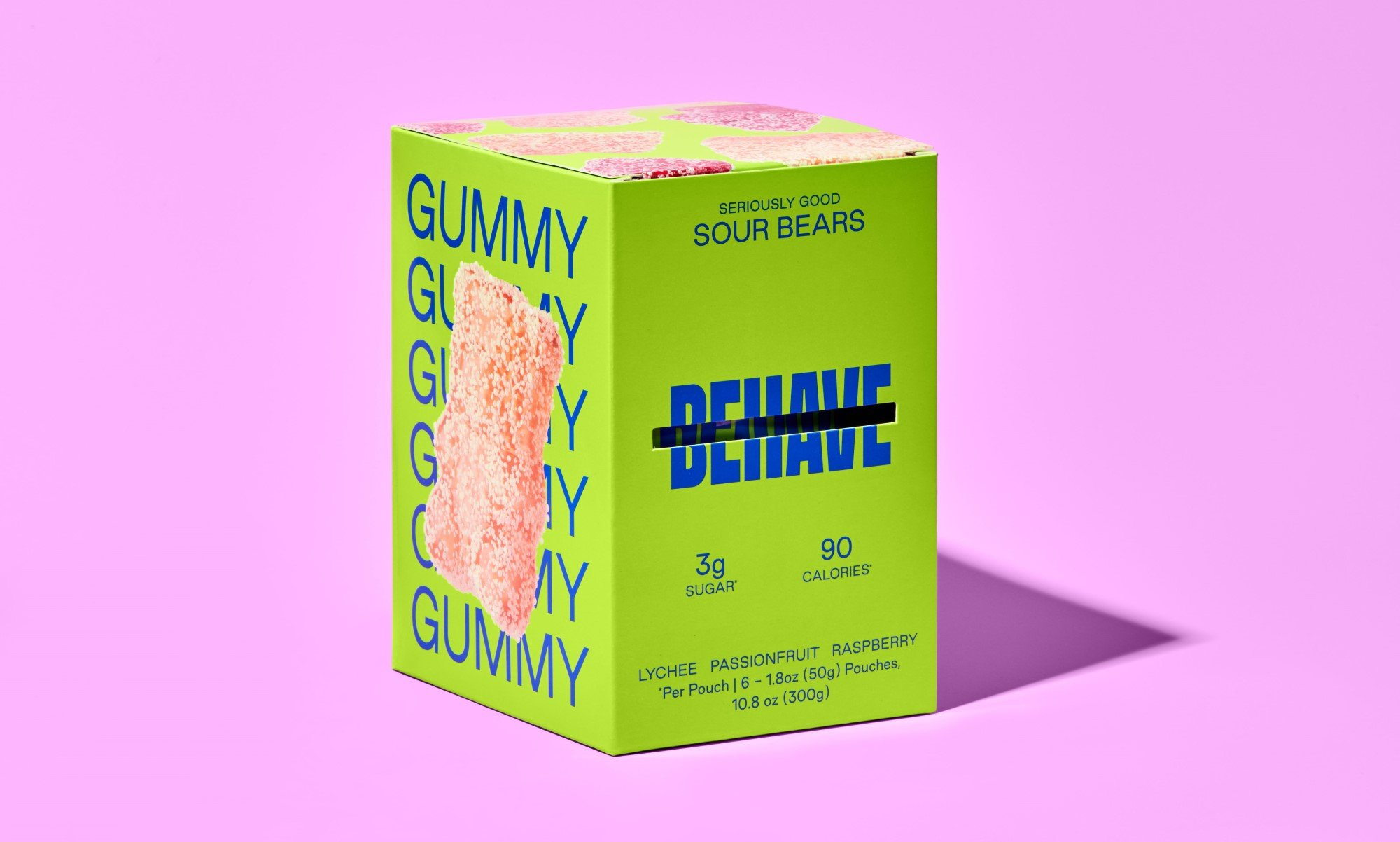 Candy brand Behave launches with low-sugar gummy bears 15