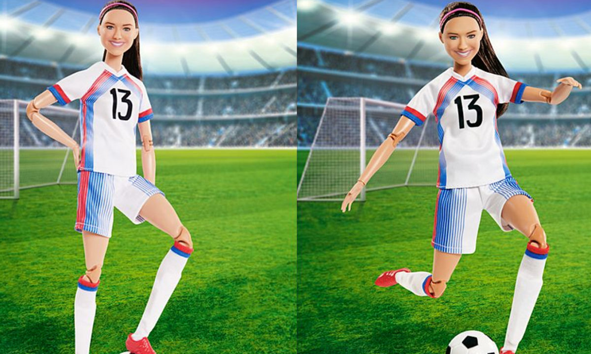 Soccer star Alex Morgan is now a Barbie doll • GEEKSPIN