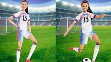 Soccer star Alex Morgan is now a Barbie doll 16