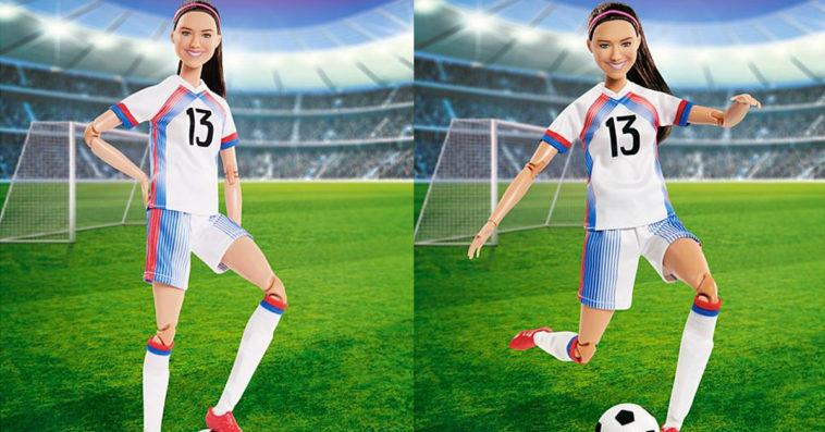 Soccer star Alex Morgan is now a Barbie doll 11
