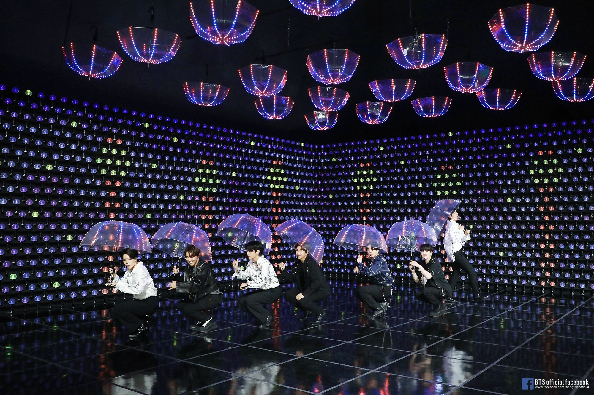 BTS held a virtual concert (Bang Bang Con The Live) in June 2020. What song did the concert kick off with? 54