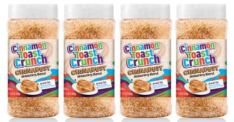 Cinnamon Toast Crunch 'Cinnadust' seasoning blend is coming in September 14