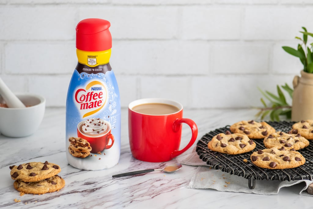 Coffee mate's holiday flavors include Cookies 'n Cocoa, Mint Truffle, and Caramel Toffee 21