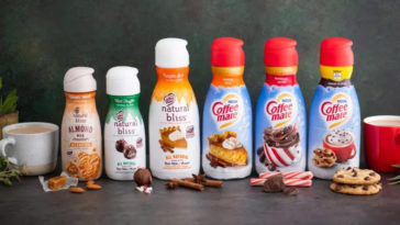 Coffee mate's holiday flavors include Cookies 'n Cocoa, Mint Truffle, and Caramel Toffee 19