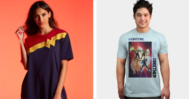 DC FanDome Store offers merch based on Wonder Woman, Black DC superheroes, & more 12