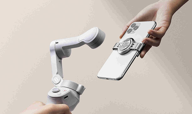 DJI OM 4 is a foldable, compact smartphone stabilizer with gesture control 14