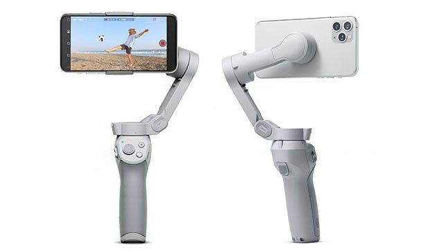 DJI OM 4 is a foldable, compact smartphone stabilizer with gesture control 13