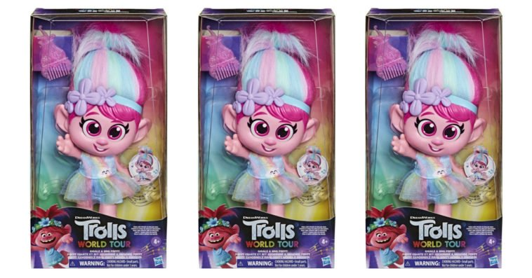Hasbro is removing a Trolls doll with an inappropriately placed button from stores 15