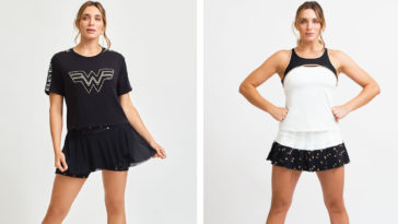 EleVen by Venus Williams x Wonder Woman collection includes tennis wear, t-shirts, and hoodies 18