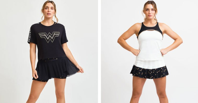 EleVen by Venus Williams x Wonder Woman collection includes tennis wear, t-shirts, and hoodies 13