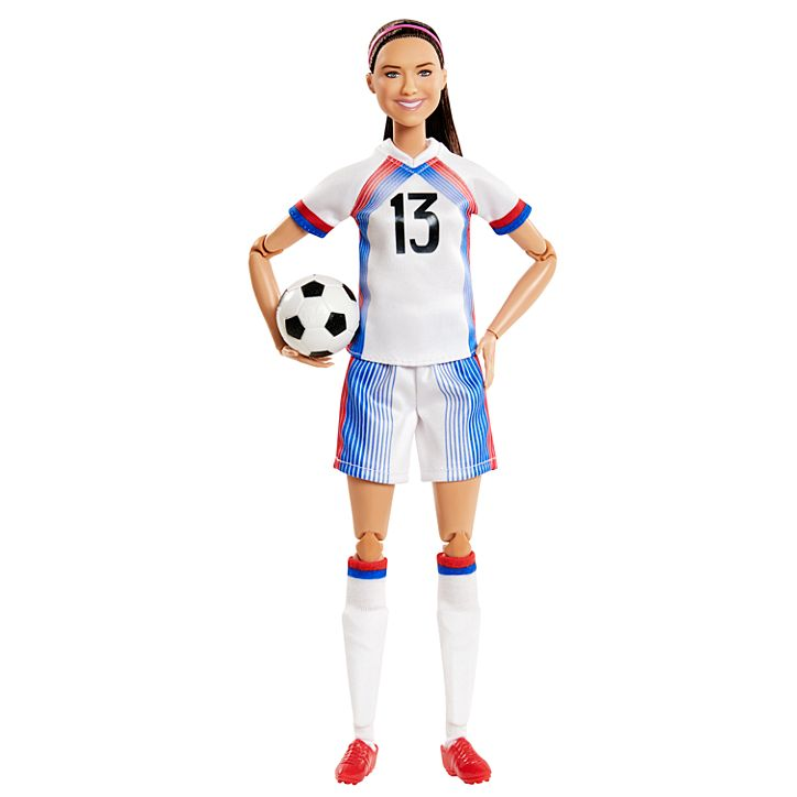 Soccer star Alex Morgan is now a Barbie doll 12
