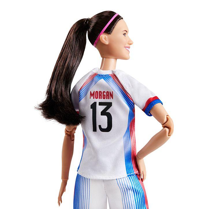 Soccer star Alex Morgan is now a Barbie doll 13