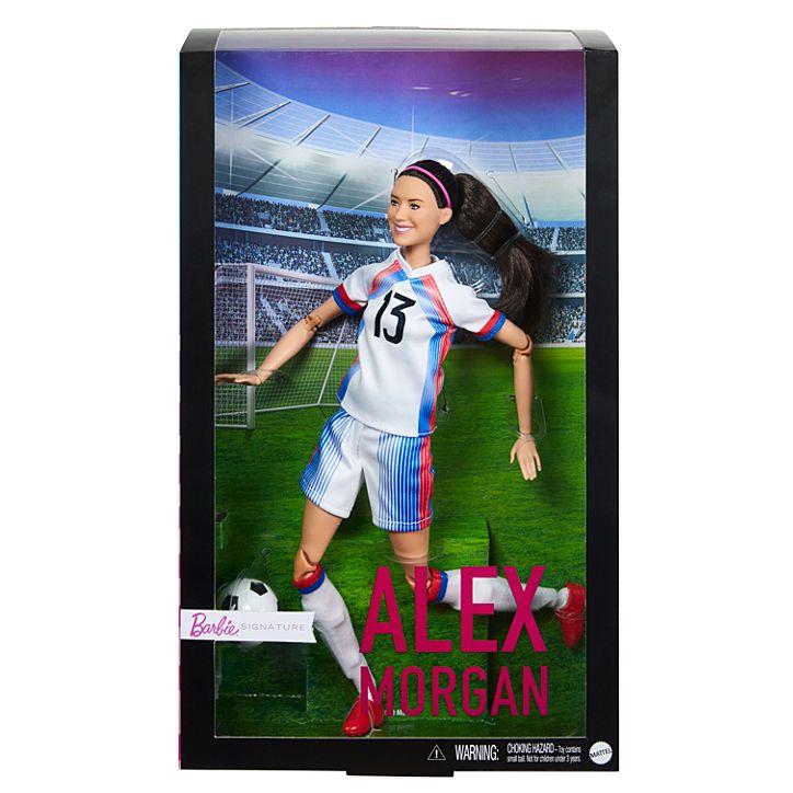 Soccer star Alex Morgan is now a Barbie doll 14