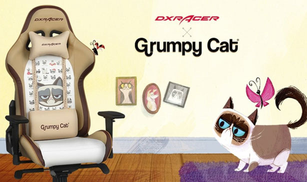 This Grumpy Cat gaming chair is perfect for working from home 13