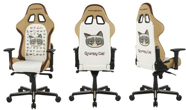This Grumpy Cat gaming chair is perfect for working from home 14