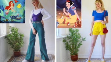 How Disney Princesses and other fictional characters would dress in real life 12