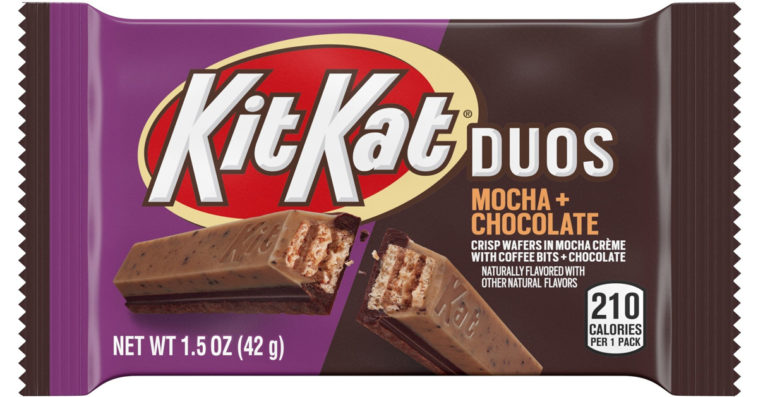 Kit Kat is releasing a Duos bar covered in mocha crème and chocolate 12
