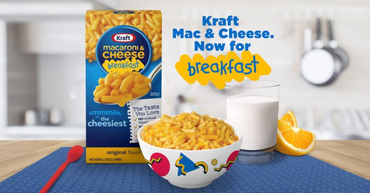 Kraft Mac and Cheese is officially a breakfast food 14