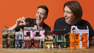 LEGO's Harry Potter Diagon Alley set was designed by the Weasley twins 15