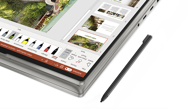 Lenovo's Yoga 9 laptop series arrives with a leather option 17