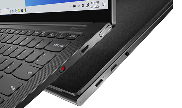 Lenovo's Yoga 9 laptop series arrives with a leather option 19