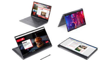 Lenovo's Yoga 9 laptop series arrives with a leather option 18