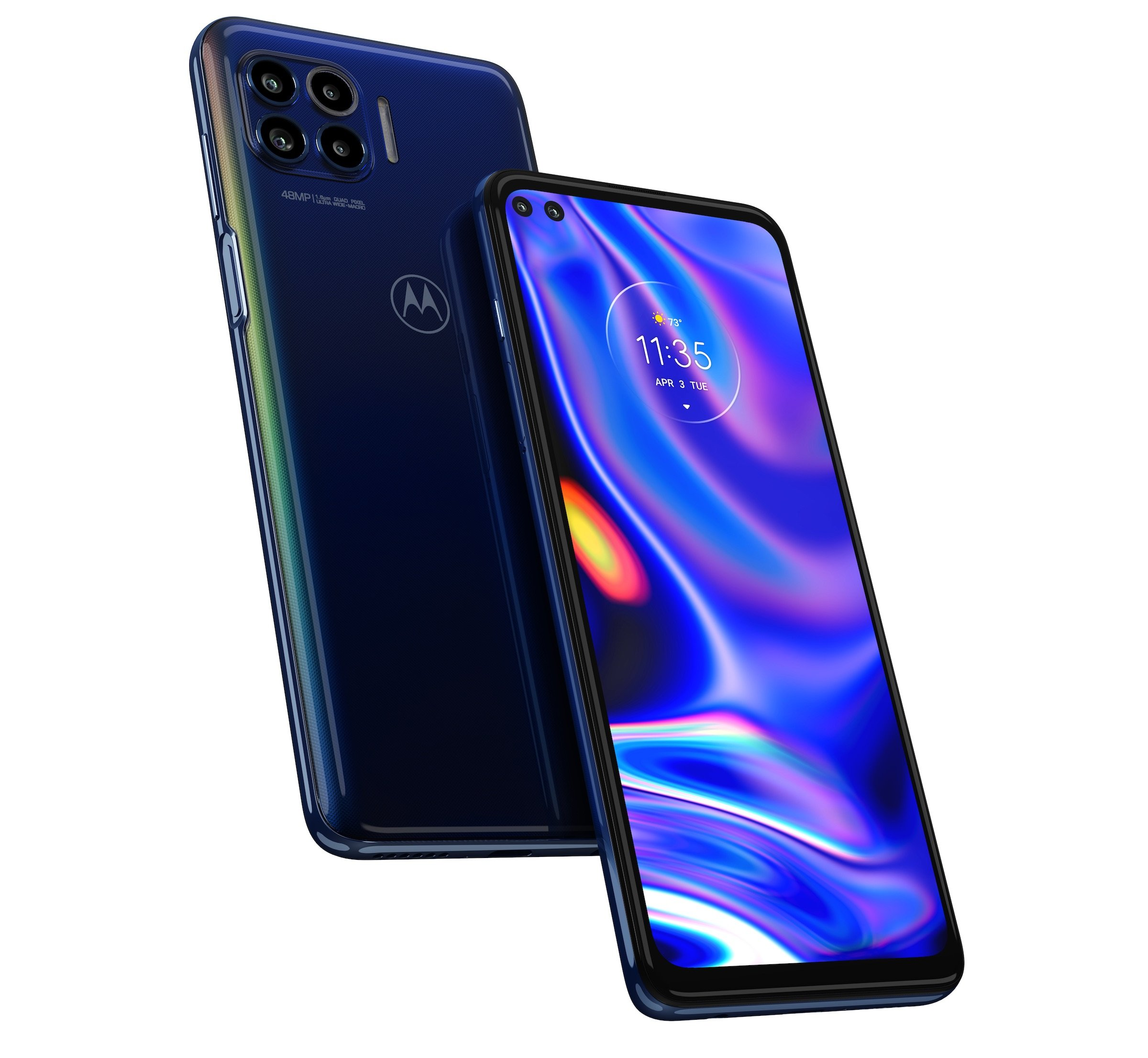 Motorola One 5G is a sub $500 phone with a macro lens ring light 13