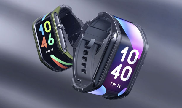 Futuristic Nubia curved smartwatch now live on Kickstarter 15