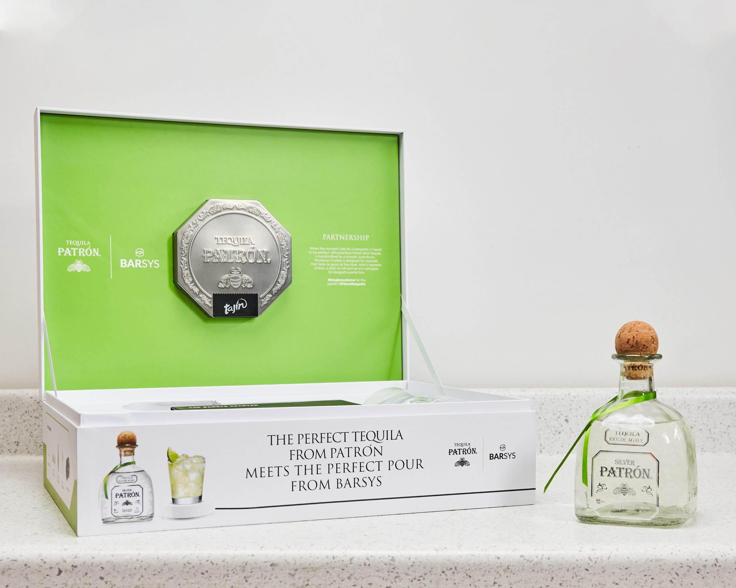PATRÓN Margarita Smart Coaster by Barsys turns cocktail lovers into expert bartenders 16